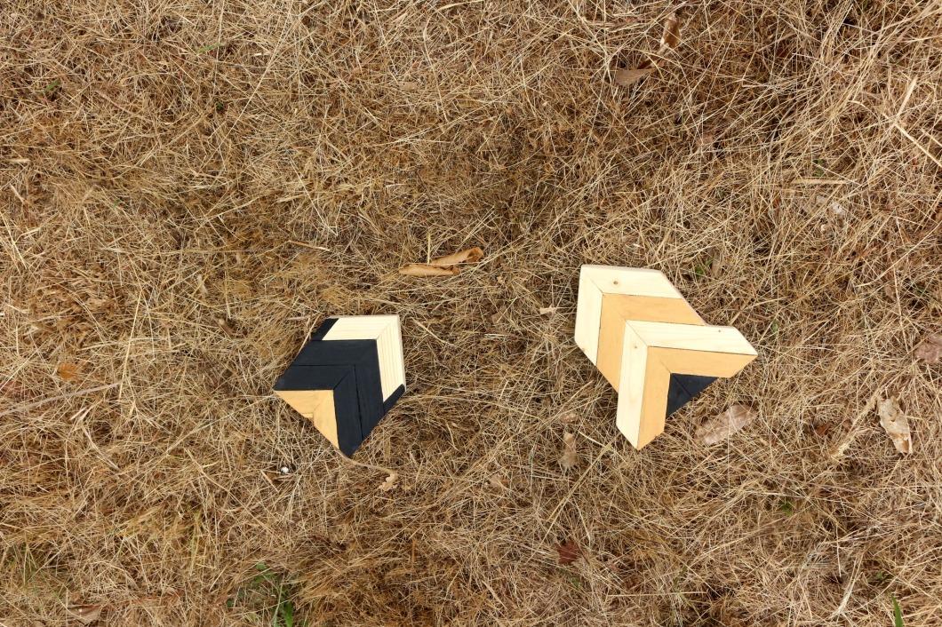 décoration en bois assemblage marqueterie