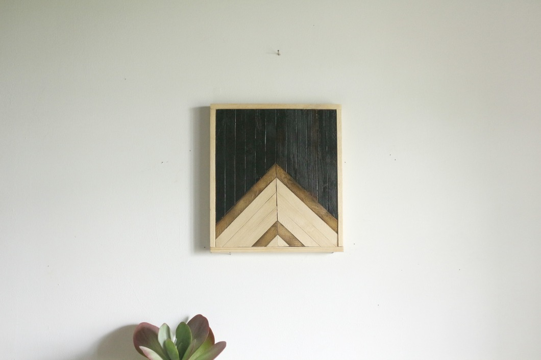 tableau bois montagne