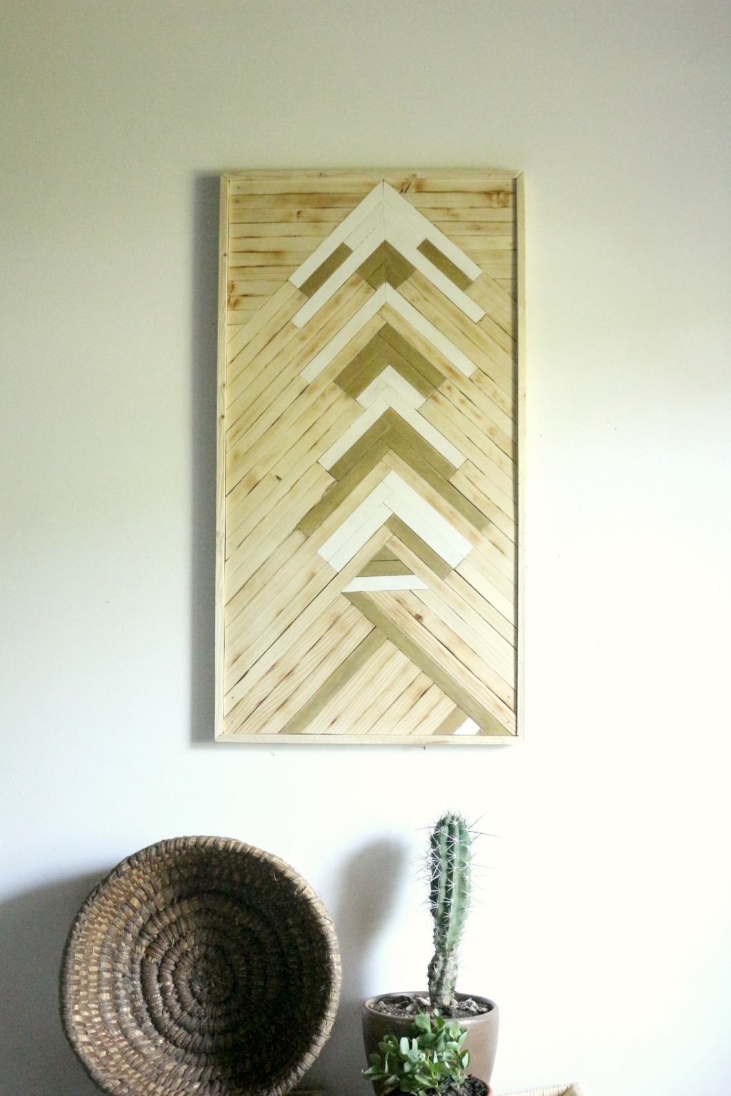 Tableau en bois design birke studio