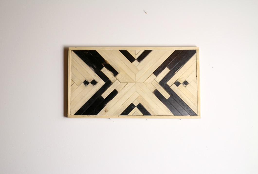 woodart tableau en marqueterie moderne
